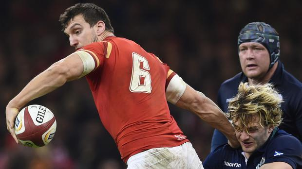 Sam Warburton (left) said Wales were not underestimating Scotland despite their fantastic recent record against the Dark Blues