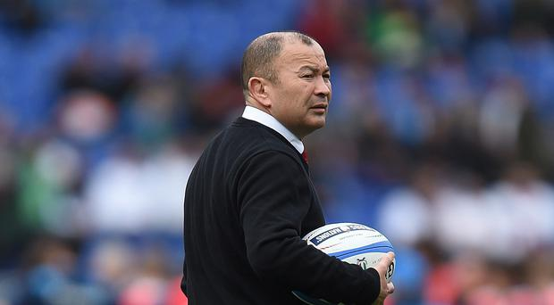Eddie Jones has kept his squad together after back-to-back wins