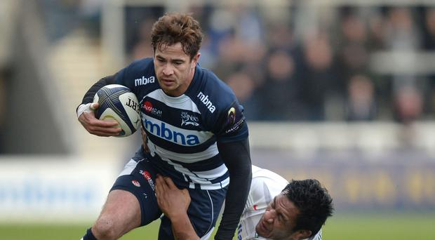 Danny Cipriani, left, is leaving Sale to rejoin Wasps
