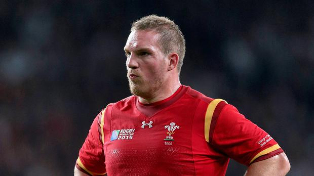 Prop Gethin Jenkins, pictured, remains an integral part of the Wales set-up under head coach Warren Gatland