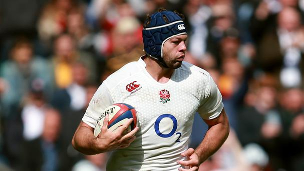 Josh Beaumont dislocated his shoulder playing for Sale on Saturday