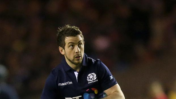 Scotland's Greig Laidlaw is focused on doing his job and not on statistics