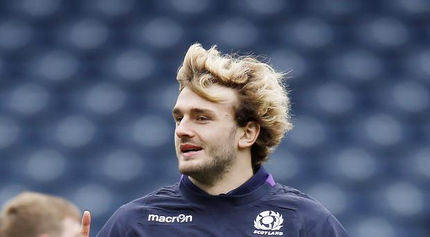 Scotland's Richie Gray is staying positive ahead of the Rome trip