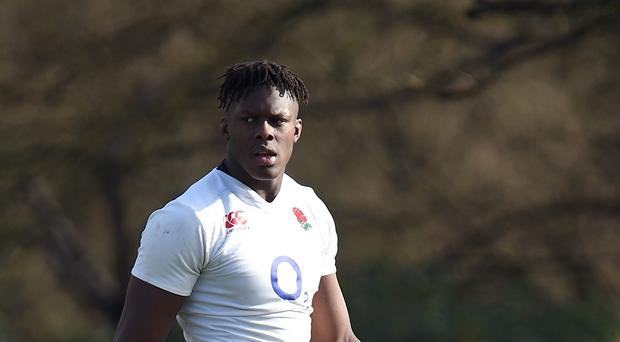 Saracens lock Maro Itoje is lined up to make his first England start after Joe Launchbury was ruled out of the match against Ireland