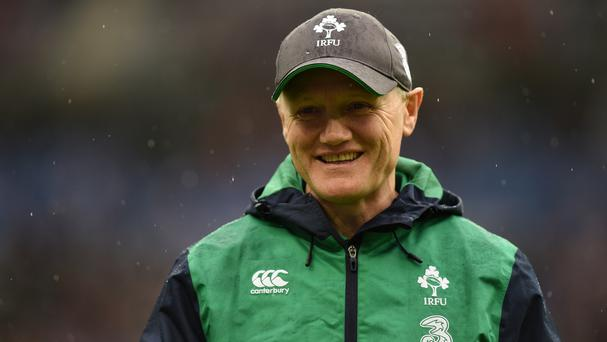 Ireland head coach Joe Schmidt has named uncapped duo Stuart McCloskey and Josh van der Flier in his side to face England