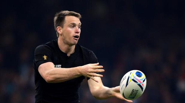 New Zealand's Ben Smith scored twice in defeat for the Highlanders