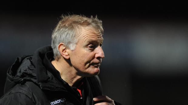 Edinburgh coach Alan Solomons' options for this weekend are limited by international call-ups
