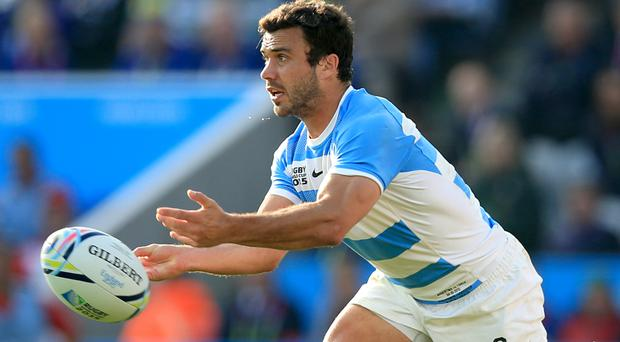 Martin Landajo crossed over for a double as the Jaguares got off to a winning start