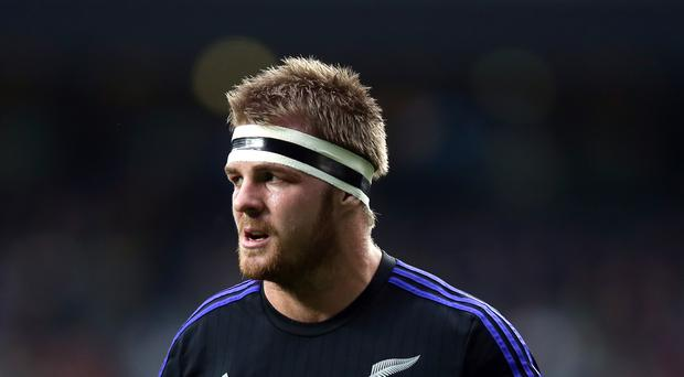 New Zealand's Sam Cane was on the scoresheet for the Chiefs on Saturday