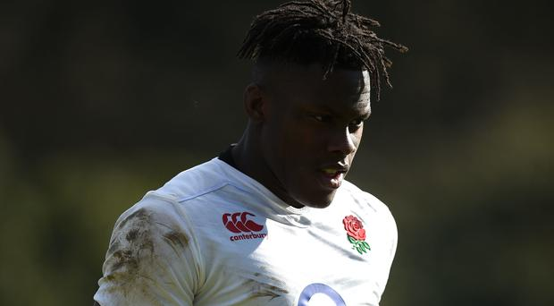 Maro Itoje stepped up to the England starting XV
