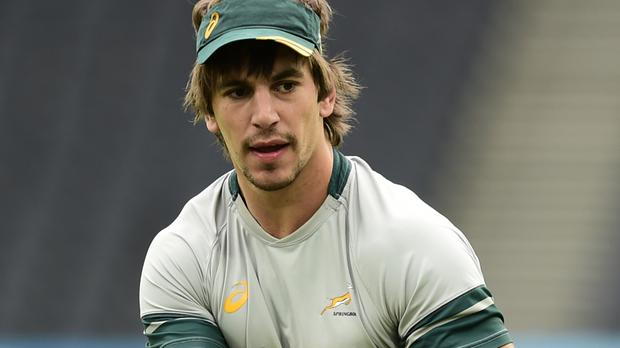 Eben Etzebeth was among the try-scorers for the Stormers