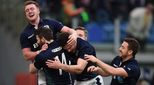 Scotland should take confidence from their win over Italy in Rome, according to backs coach Jason O'Halloran