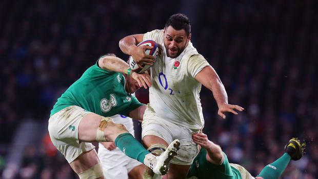 Billy Vunipola was immense against Ireland