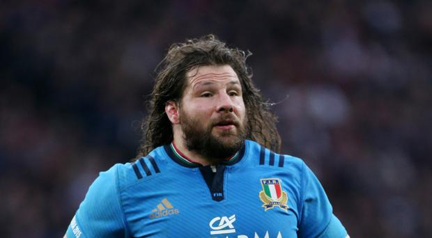 Italy prop Martin Castrogiovanni has been cited
