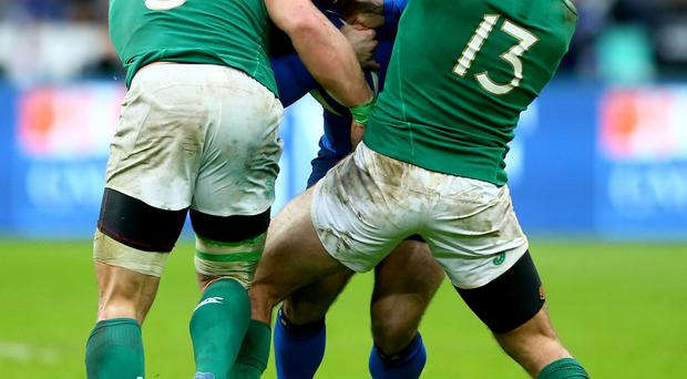 Big idea: Ireland are experts in choke tackle, thanks to Kiss
