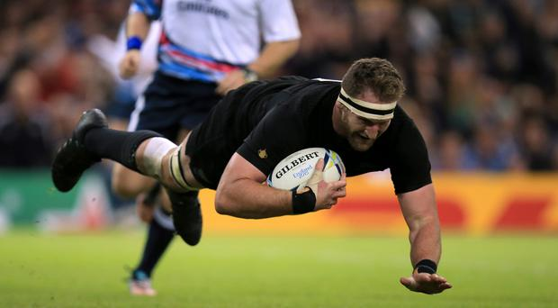 New Zealand's Kieran Read scored in victory for the Crusaders