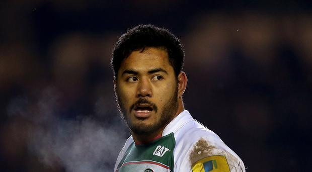 Manu Tuilagi will line up for Leicester against Exeter