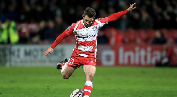 Greig Laidlaw booted eight points for Gloucester in a low-scoring game