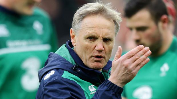 Ireland head coach Joe Schmidt, pictured, has added uncapped Munster flanker Jack O'Donoghue to his RBS 6 Nations squad