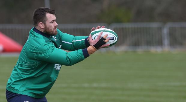 Cian Healy, pictured, insists Ireland can fend off any jitters after three matches without victory in the RBS 6 Nations