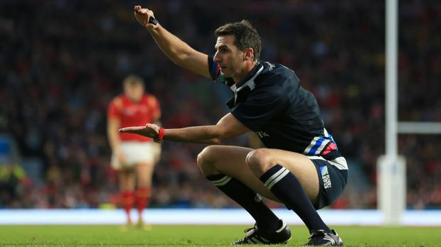 Referee Craig Joubert will be the man tasked with controlling Saturday's Twickenham tussle