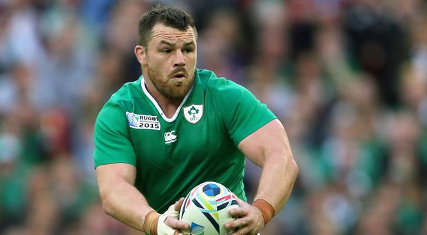 Cian Healy will sit out Ireland's clash with Italy