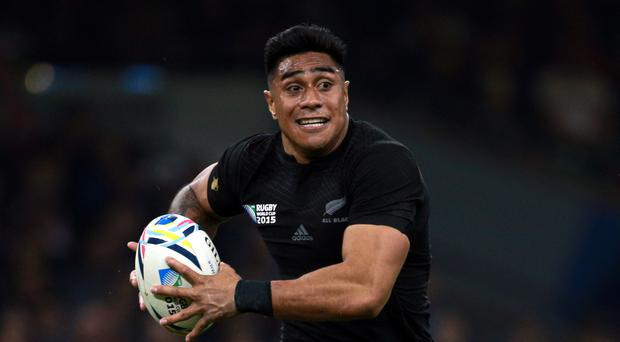 Highlanders centre Malakai Fekitoa touched down to put the game well beyond the Lions