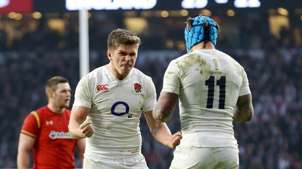 Owen Farrell's flawless goal-kicking helped England to victory over Wales