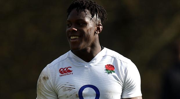 Maro Itoje produced a man-of-the-match performance against Wales