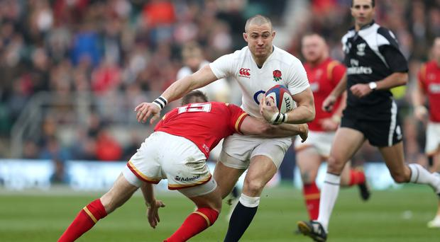 Mike Brown was targeted by Welsh Twitter trolls before England's victory at Twickenham