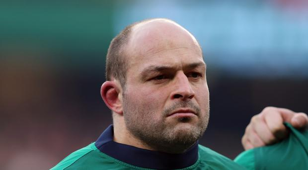 Rory Best, pictured, must prove his fitness after calf trouble ahead of Ireland's RBS 6 Nations clash with Scotland