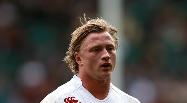 Tommy Taylor has remained with England