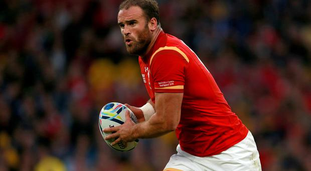 Centre Jamie Roberts will be part of a Wales team aiming to clinch runners-up spot in this season's RBS 6 Nations Championship by defeating Italy
