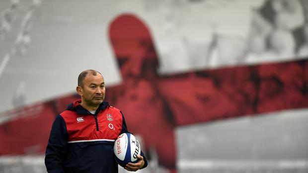 England head coach Eddie Jones is taking his side to France