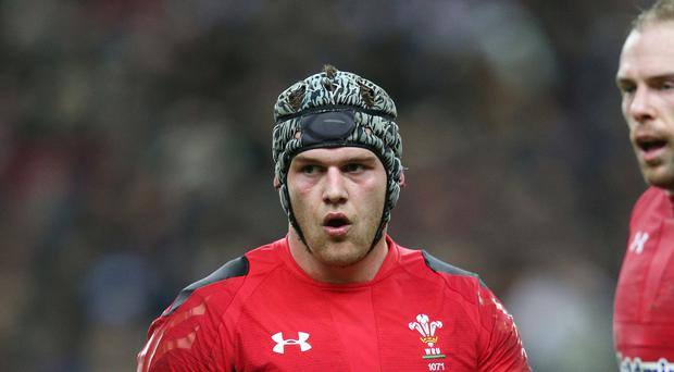 Captain Dan Lydiate missed Friday's Wales training session at the Principality Stadium