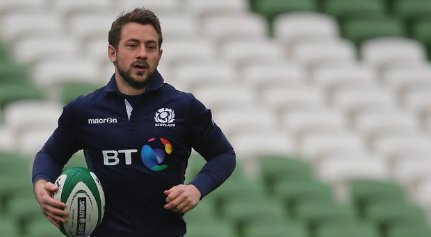 Scotland's Greig Laidlaw believes his side are moving in the right direction