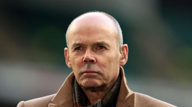 Sir Clive Woodward enjoyed England's Grand Slam success
