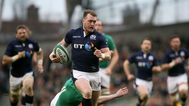 Scotland's Stuart Hogg was the outstanding full-back at the 2016 RBS 6 Nations