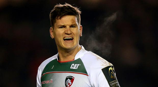 Freddie Burns helped himself to 16 points in Leicester's win over Saracens