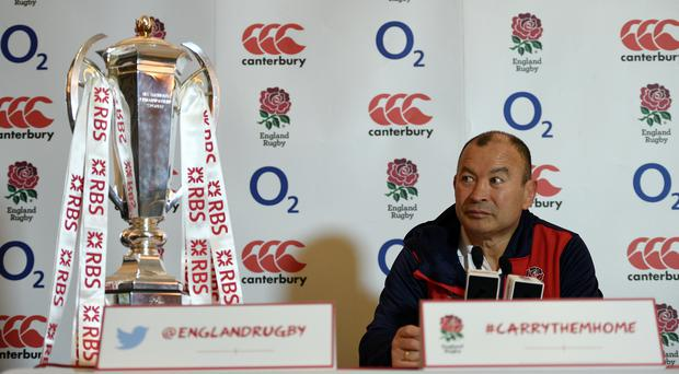 England head coach Eddie Jones is aiming high and will take Dylan Hartley with him