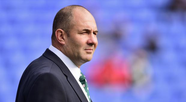 London Irish head coach Tom Coventry saw his side lose against Worcester.