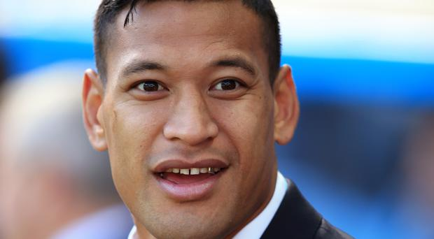 Israel Folau's two tries helped the NSW Waratahs to a win over the Queensland Reds