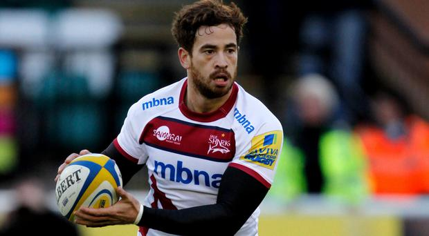 Danny Cipriani's late try for Sale proved decisive against Leicester