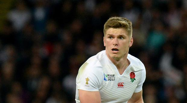 Owen Farrell played a starring role for Saracens against Exeter on his return from England Six Nations duty