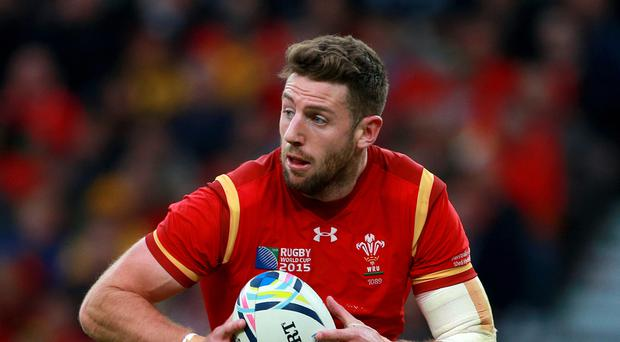 Wales wing Alex Cuthbert will not play again this season after undergoing knee surgery