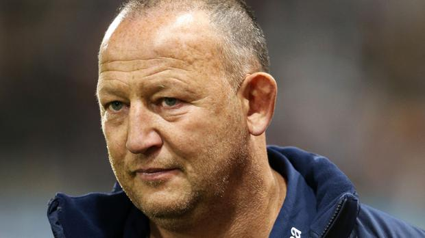 Sale Sharks rugby director Steve Diamond, pictured, is delighted with the signing of Connacht fly-half AJ MacGinty