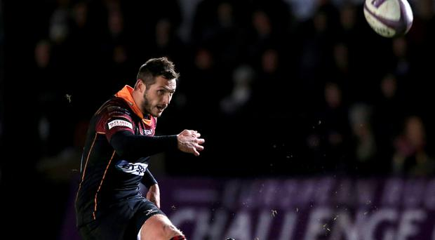Jason Tovey comes in at stand-off for Edinburgh
