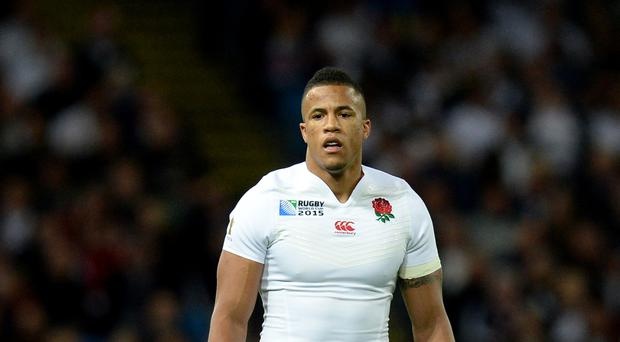 England back Anthony Watson was sent off during Bath's Aviva Premiership clash with Saracens