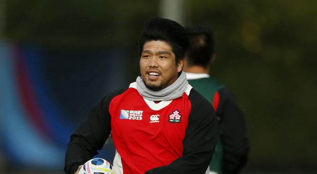 Japan international Shota Horie scored the Sunwolves' first try in defeat to Kings