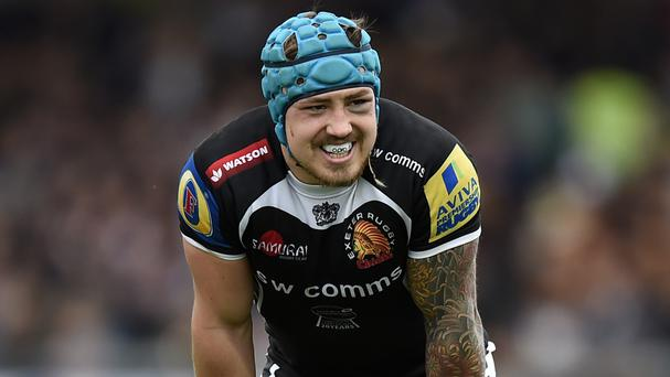 Exeter and England wing Jack Nowell is enjoying special times with club and country this season